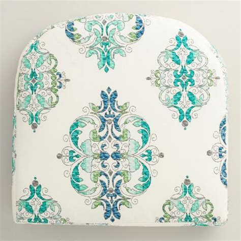 pattern for vintage high chair pad green and blue santa cruz gusseted outdoor chair cushion