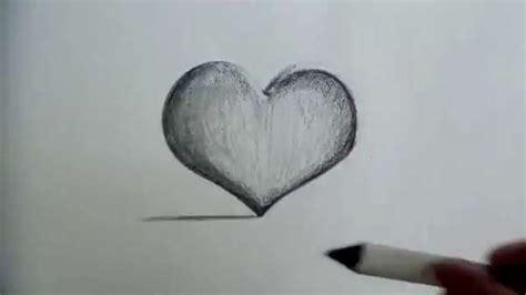 imagenes raras tridimensionales c 211 mo dibujar un coraz 211 n en 3d hacer corazones a lapiz