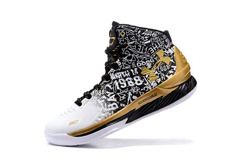 Armor Curry 12 High Mvp armour curry 2 mvp mens white gold