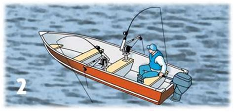 adding rod holders to boat adding downriggers to your fishing boat for trolling