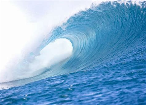 ocean waves with curls wave wallpaper wallpapersafari