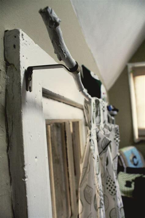 diy curtain rails 17 best ideas about branch curtain rods on pinterest
