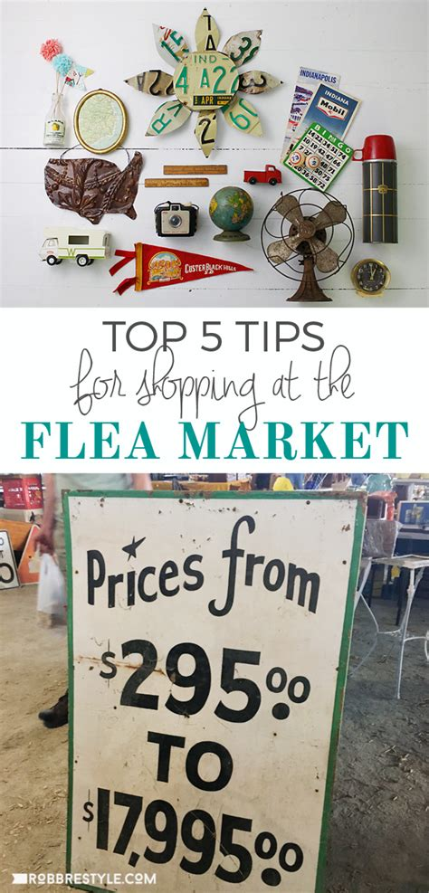 Tips For Flea Market Shopping by Top 5 Tips For Flea Market Shopping Robb Restyle