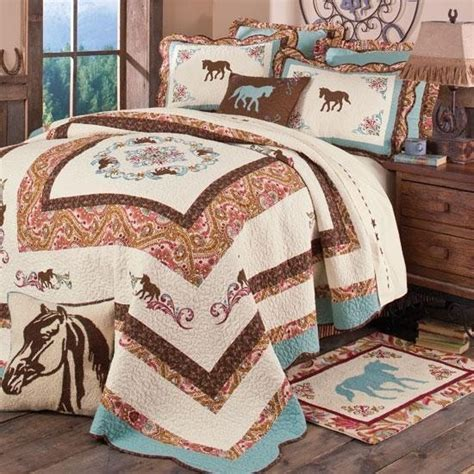 horse bedroom set pin by suzzan nutting on western quilts pinterest