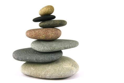 Steine Aufeinander Gestapelt by Istock