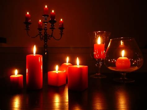 candele rosse mercatini di natale candele a candelara