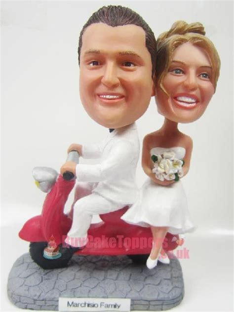 Wedding Cake Ride by Wedding Cake Topper Ride Scooter Custom Cake
