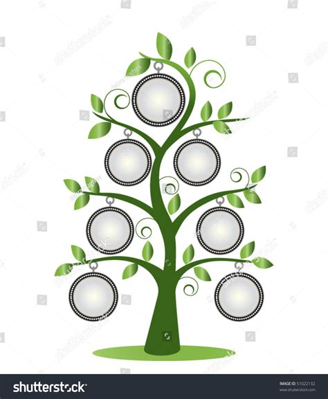 Family Tree Frames Empty Your Input Stock Vector 51022132 Shutterstock Family Tree Template Empty Frames Photos Stock Vector 656586004
