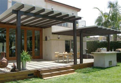 toiture aluminium pour le patio quelques idees