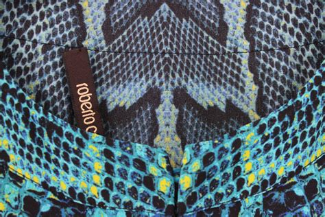 Snake Print roberto cavalli blue snake print silk maxi caftan gown