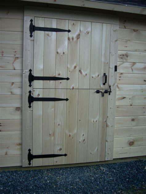How To Build A Hinged Barn Door Shed Door Hinges