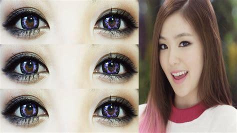 tutorial makeup hyorin red velvet 레드벨벳 행복 happiness irene makeup tutorial