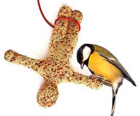 bungee jumper bird feeder