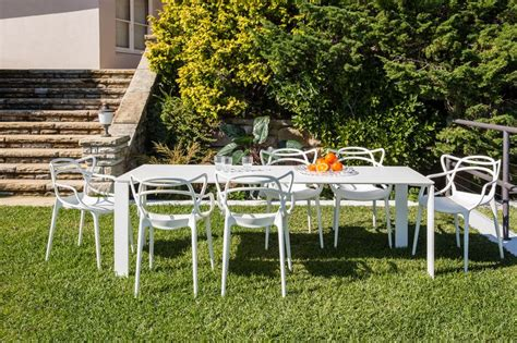 kartell masters dining chairs kartell four outdoor table