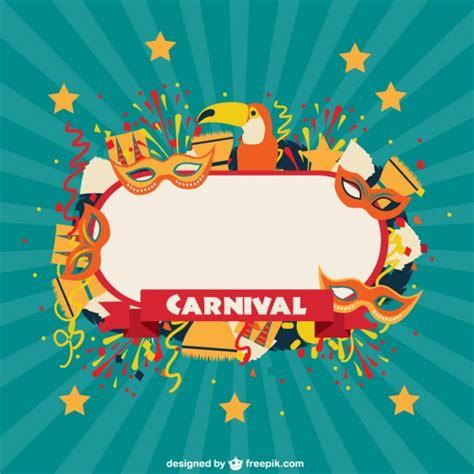Carnival Celebration Label Vector Free Download Carnival Free