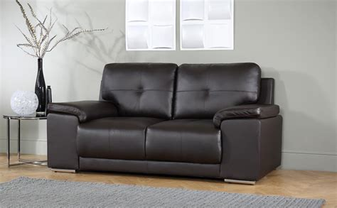 Leather Sofa Sale Uk Only Kansas Brown 2 Seater Leather Sofa Only 163 399 99 Furniture Choice