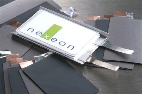 nexeon raises   silicon li ion batteries