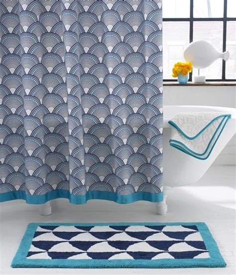 Jonathan Adler Curtains Designs Fish Scale Shower Curtain Jonathan Adler Interior Jonathan Adler Color