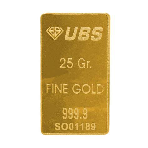 Ubs Hari Ini jual ubs emas logam mulia 25 g harga kualitas