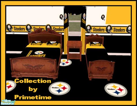 steelers bedroom primetime024 s pt nfl pittsburgh steelers bedroom