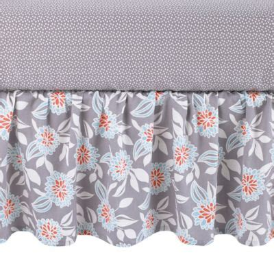 Dahlia Crib Bedding Buy Grey Dahlia Baby Bedding From Bed Bath Beyond