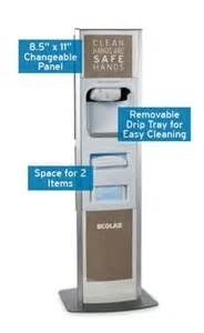 Ecolab cough station w nexa classic touch free dispenser