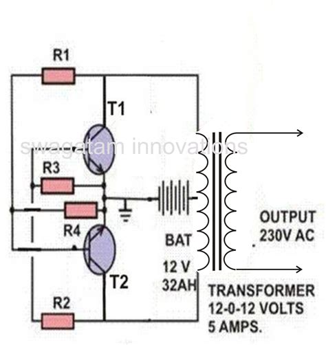 a simple inverter circuit