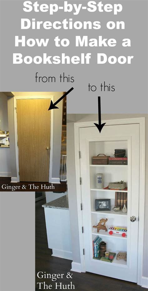 how to a pantry out of a bookcase 17 best ideas about door bookcase on