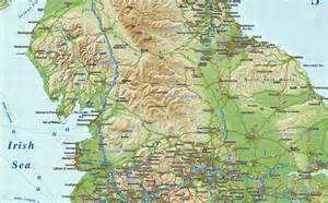 Map Of Northern England by Digital Vector England Maps Northern Region Political
