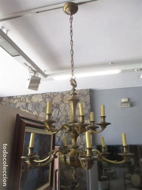 esplendida lampara de techo bronce  luces comprar