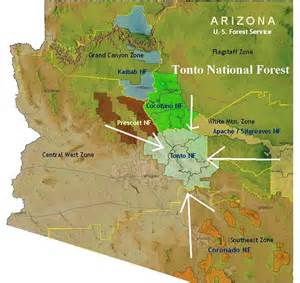 archaeology survey in tonto forest arizona