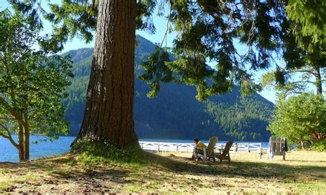 lake crescent lodge cabins olympic national park alltrips