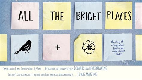 Niven All The Bright Places all the bright places niven kitap yorumu şiirsel hisler