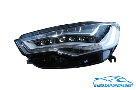 audi matrix headlights audi a6 4g led matrix headlights left right drl rhd
