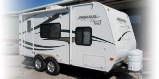 2008 Fleetwood Trailers Reviews Prices And Specs Rv Guide | 2008 fleetwood pegasus sport 716fd trailer reviews