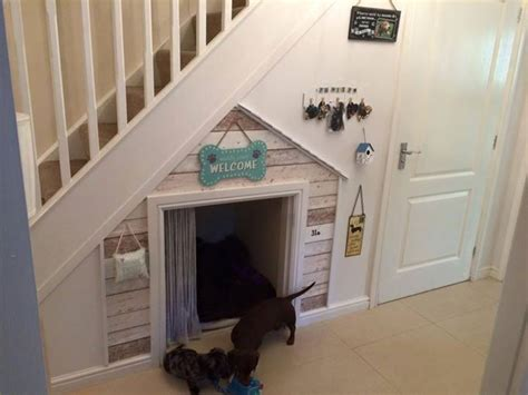 staircase dog house best 25 dog under stairs ideas on pinterest dog bed stairs under stairs dog house