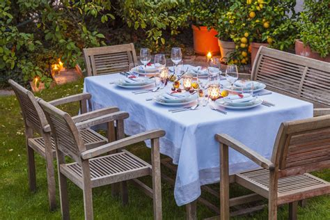 Patio Table Cloth Pretty And Practical Outdoor Tablecloths
