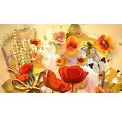 Autumn Flowers Desktop Wallpaper  WallpaperSafari
