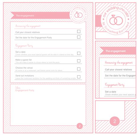 Free Wedding Planner by 9 Best Images Of Wedding Planning Printables Printable