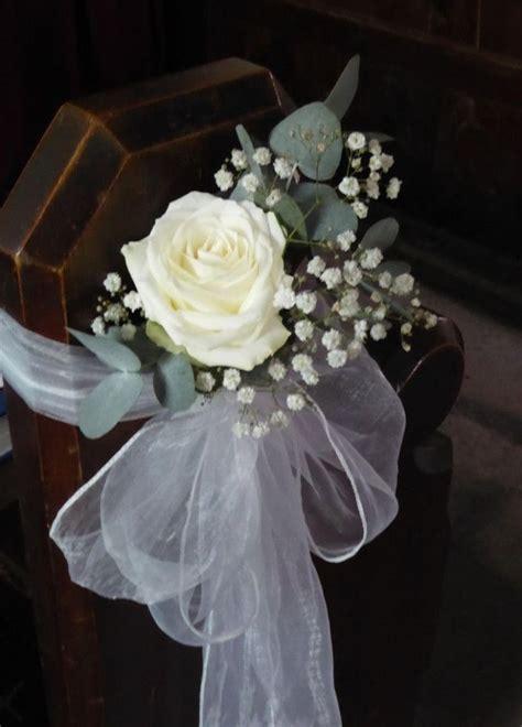 church wedding aisle pew ends wedding pew decorations