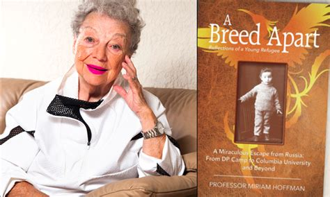 a breed apart reflections of a refugee books books books professor miriam hoffman