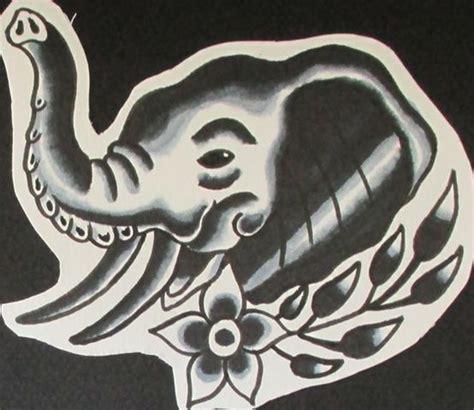 tattoo flash elephants pin by jermaine taylor on my work b g flash designs