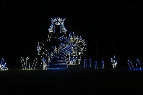 drive through light branson festival of lights drive thru light display