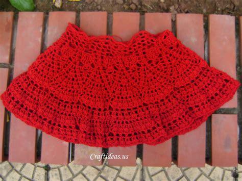 pattern crochet skirt crochet beauty skirt for little girl craft ideas
