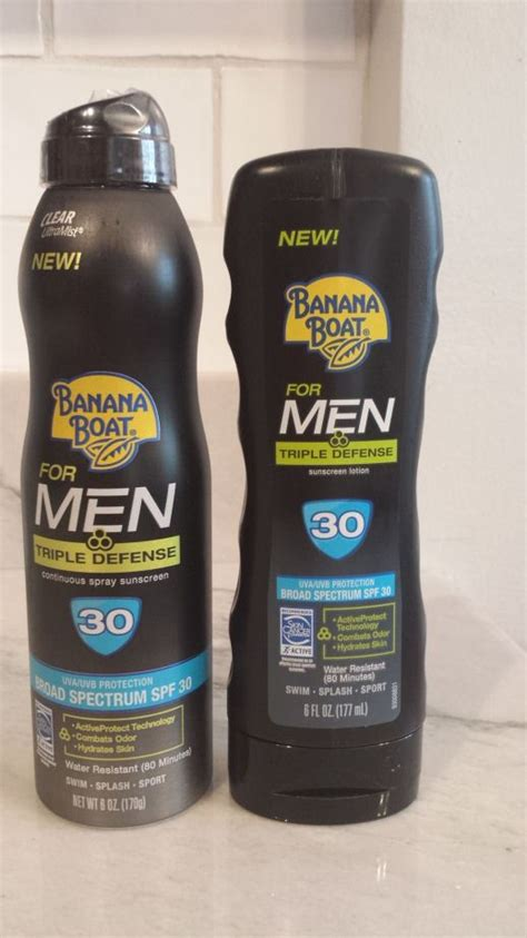 banana boat sunscreen not working banana boat triple defense sunscreen for men