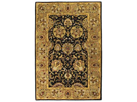 the wilshire collection rugs bashian rugs wilshire rectangular black area rug bshr128bkhg117