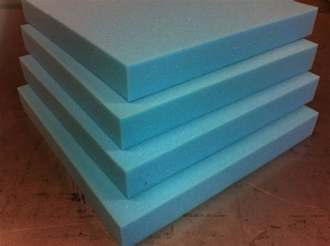 Upholstery Foam Uk by Upholstery Foam Rubber Cushions Seat Pads Select Size Depth Firm Blue Foam Ebay