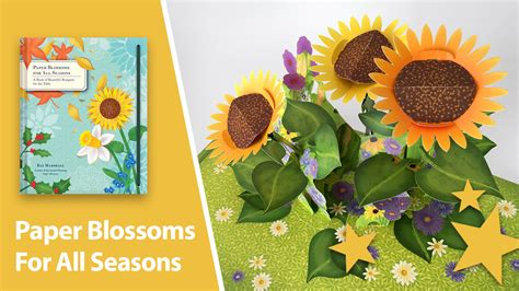 Book Review For All Season by Paper Blossoms For All Seasons Pop Up Book Best Pop Up Books