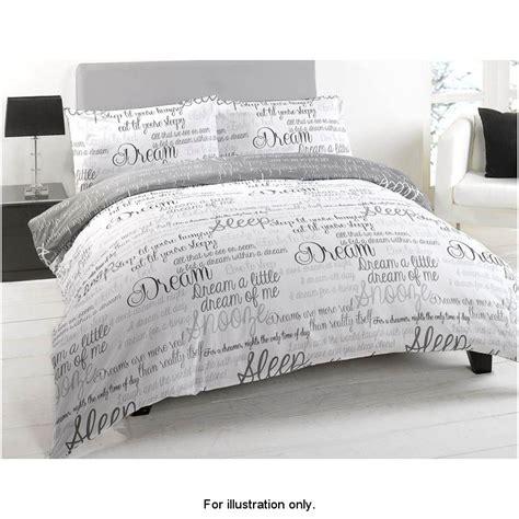 script bedding script luxury duvet set double 275973 b m