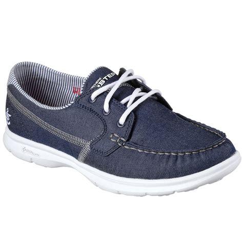 skechers women s go step indigo boat shoes denim bob s - Skechers Boat Shoes Womens